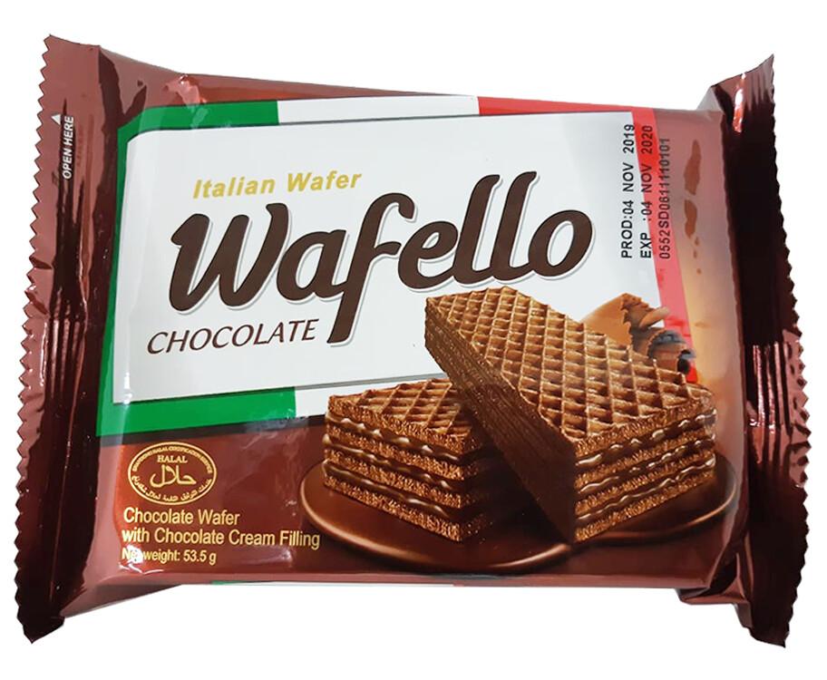 Italian Wafer Wafello Chocolate 53.5g