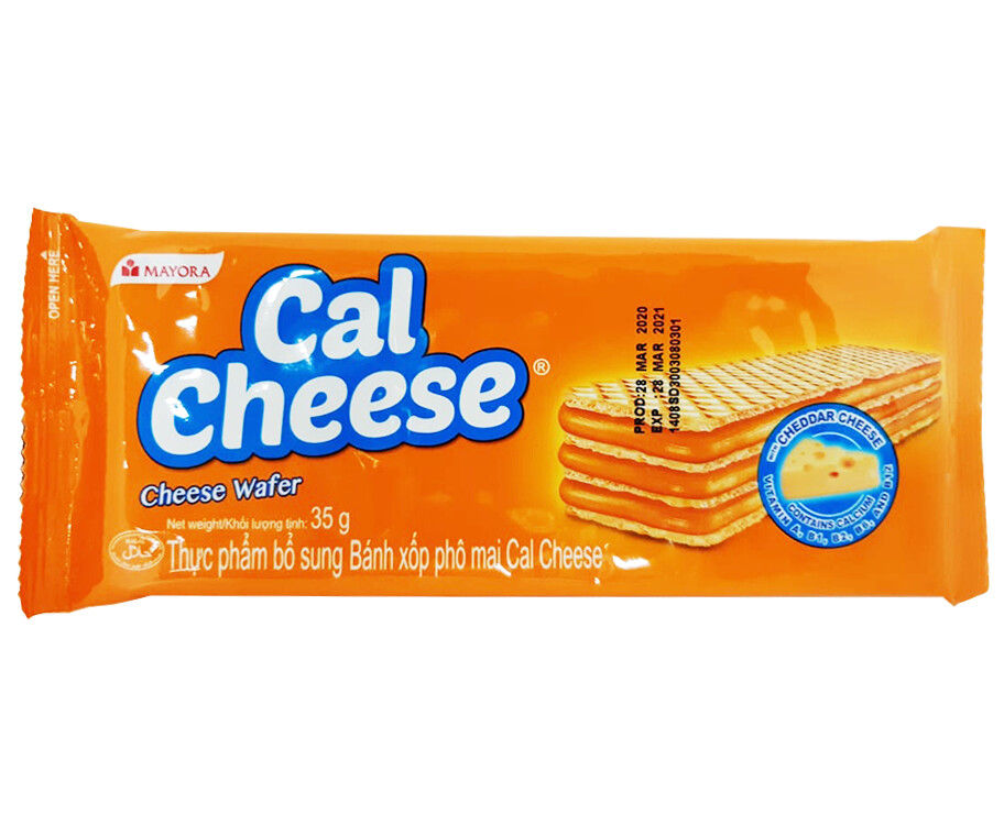 Cal Cheese Cheese Wafer 35g