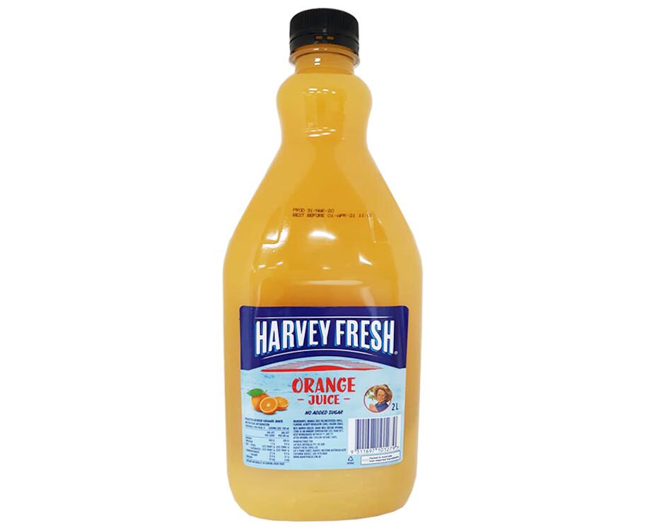 Harvey Fresh Orange Juice 2L