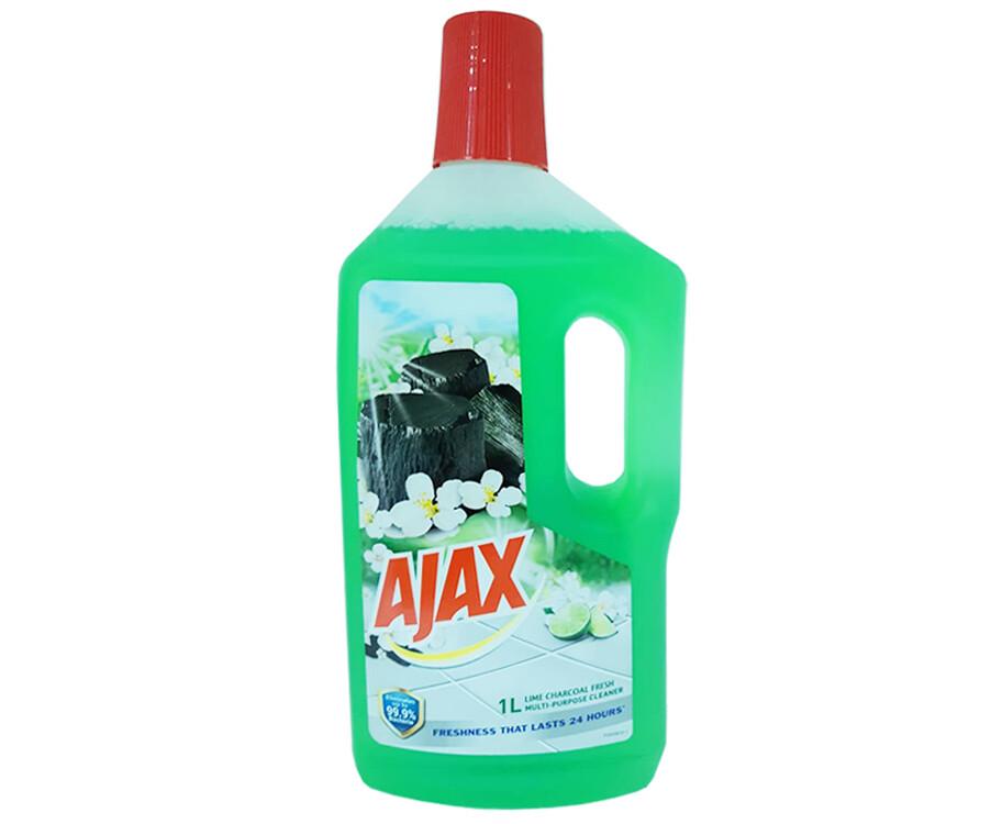 Ajax Multi-Purpose Cleaner Lime Charcoal Fresh 1L