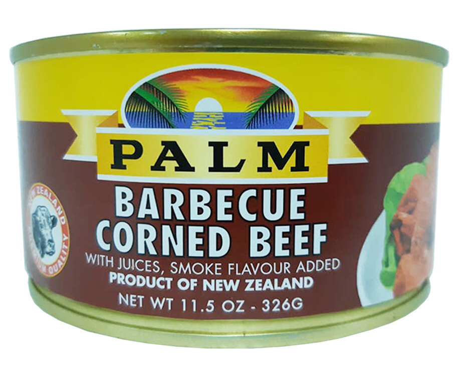 Palm Barbecue Corned Beef 326g
