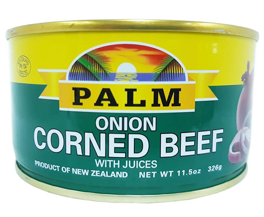 Palm Onion Corned Beef 326g