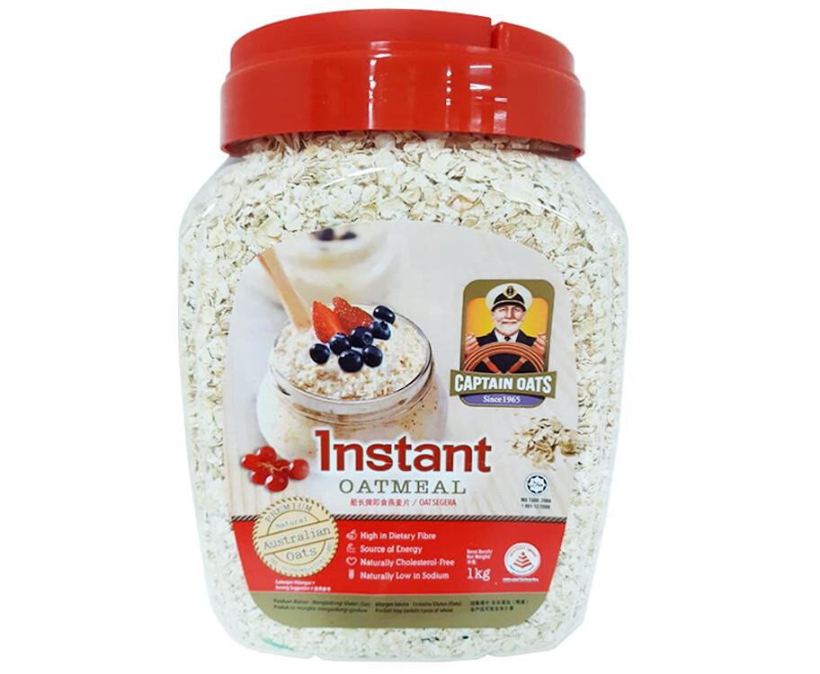 Captain Oats Instant Oatmeal 1kg