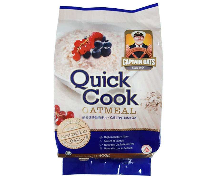 Captain Oats Quick Cook Oatmeal 400g