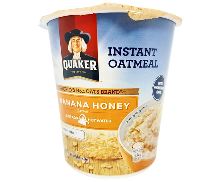 Quaker Banana Honey Instant Oatmeal 30g