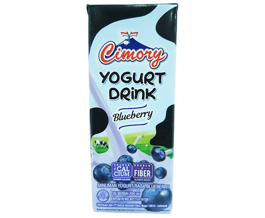 Cimory Yogurt Drink Blueberry 200mL