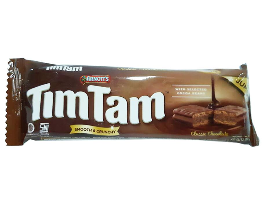 Arnott's TimTam Smooth & Crunchy Classic Chocolate Jumbo 22g
