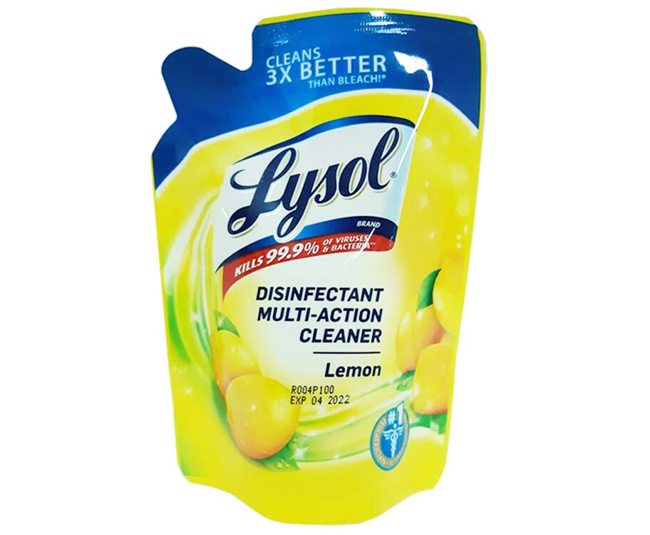 Lysol Disinfectant Multi-Action Cleaner Lemon 200mL