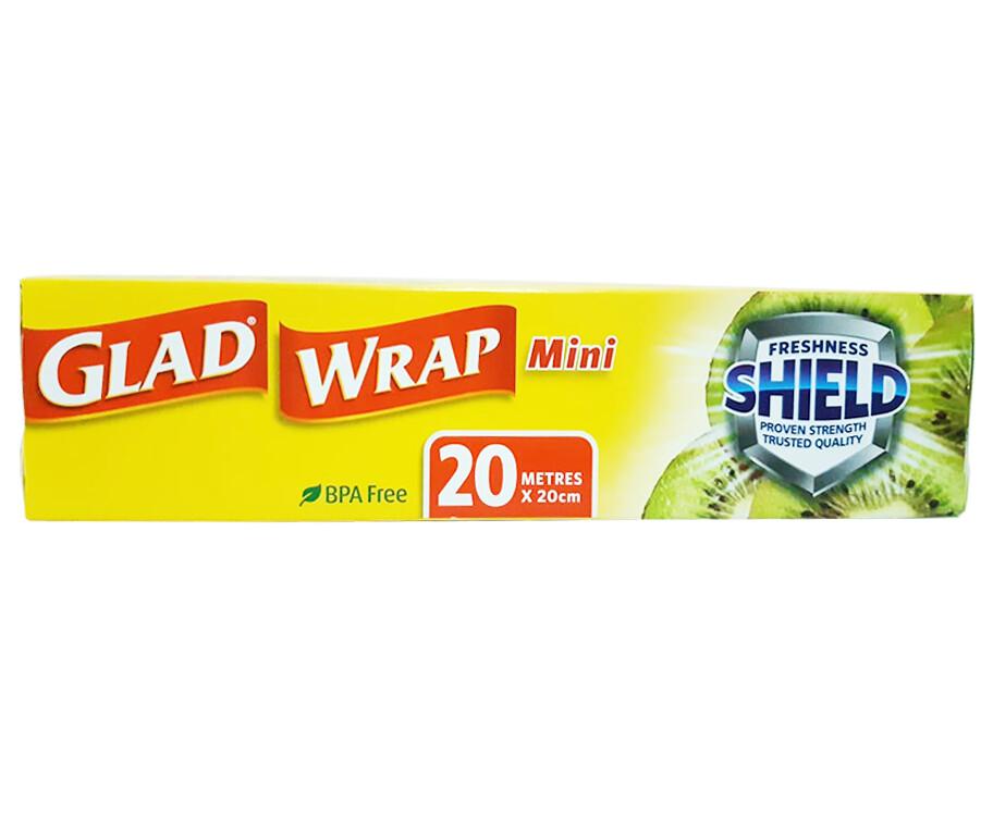 Glad Wrap Mini Cling Wrap 20x20 Metres