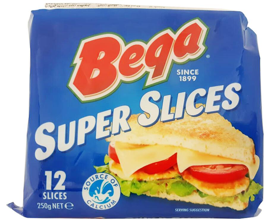 Bega Super Slices 12 Slices 250g