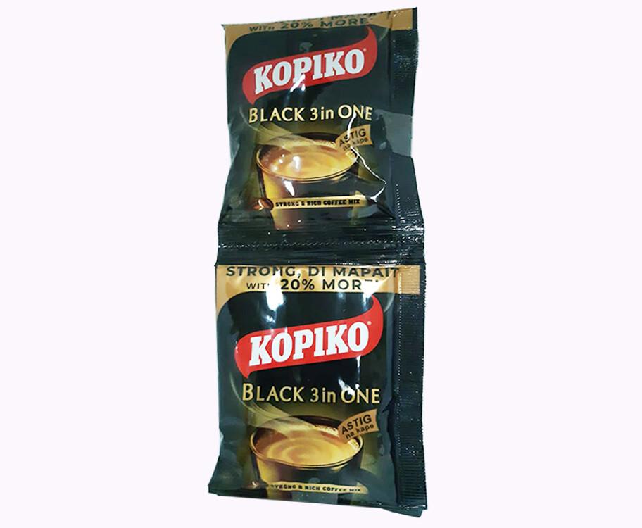 Kopiko Black 3-in-One (6 Packs x 30g)