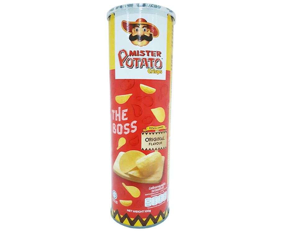Mister Potato Crisps The Boss Original Flavour 100g