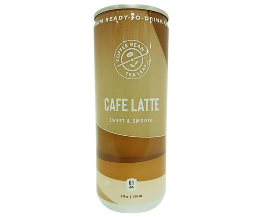Coffee Bean Tea Leaf Cafe Latte Sweet & Smooth 240mL