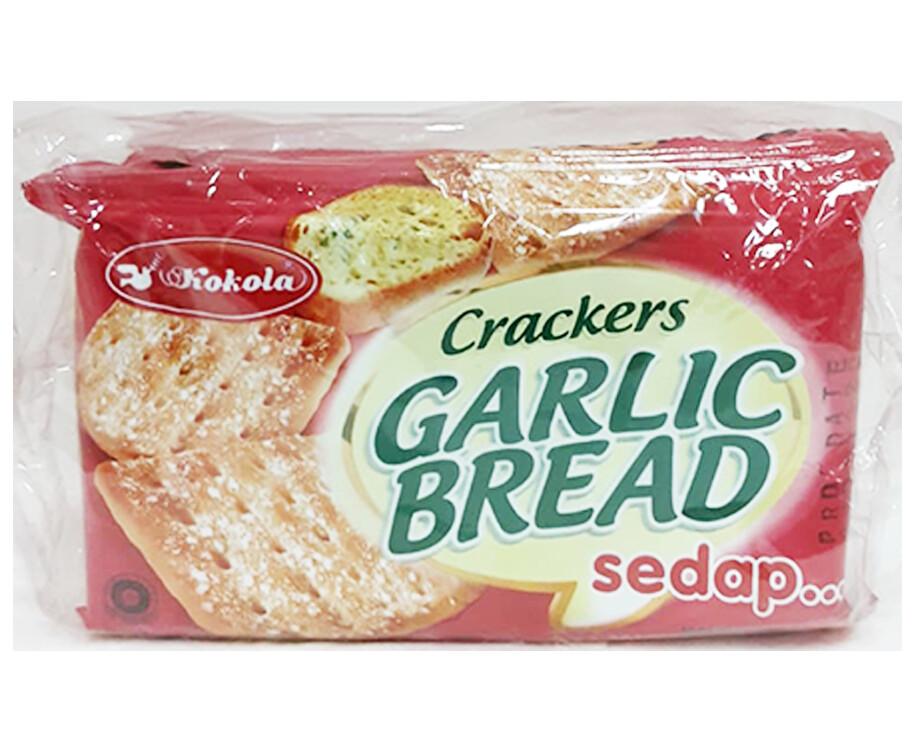 Kokola Crackers Garlic Bread (10 Packs x 24g)