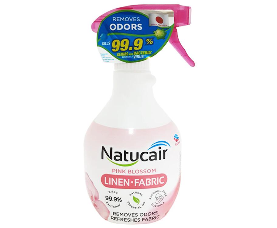 Natucair Pink Blossom Linen Fabric 400mL