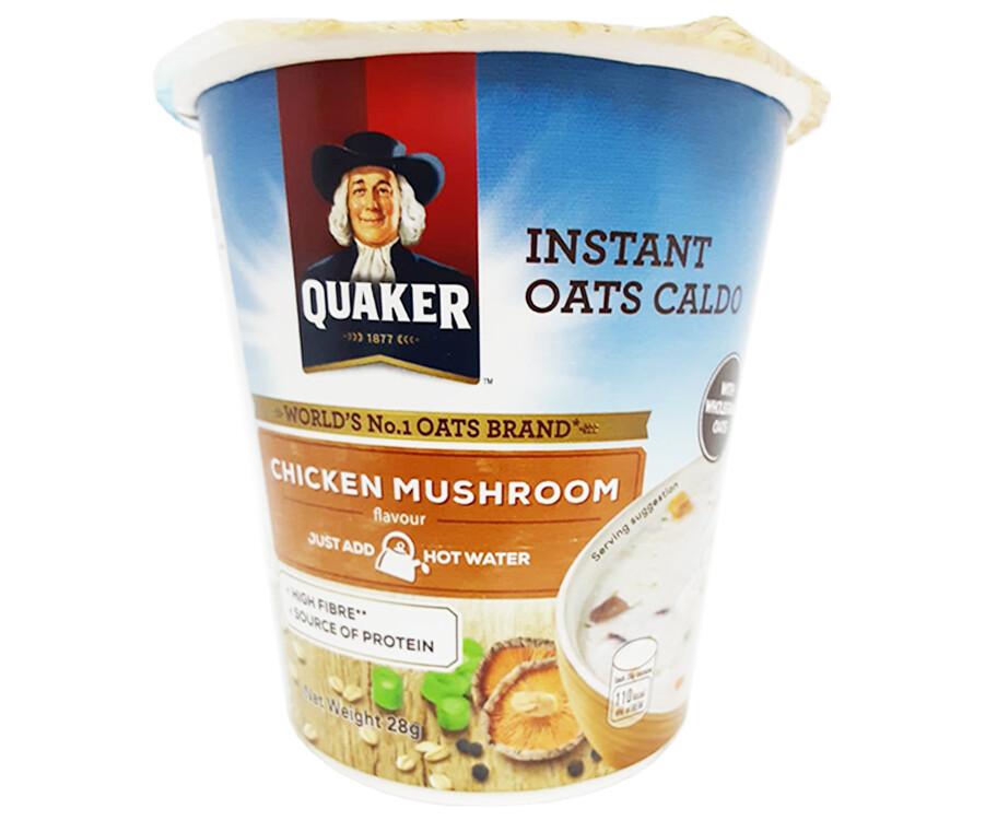 Quaker Instant Oats Caldo Chicken Mushroom Flavour 28g