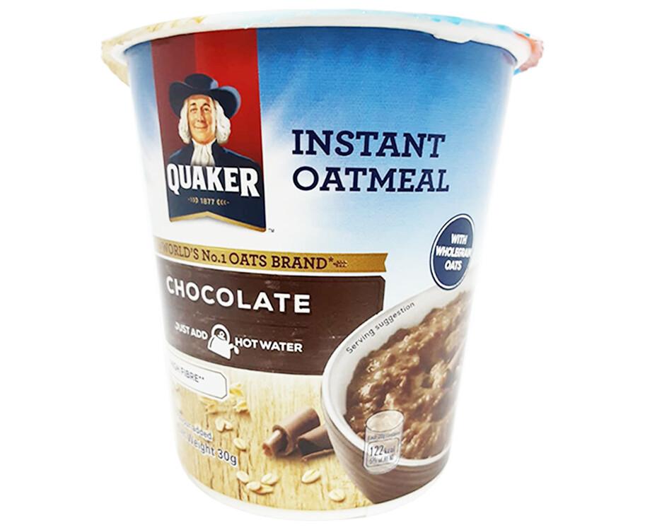 Quaker Instant Oats Chocolate 30g