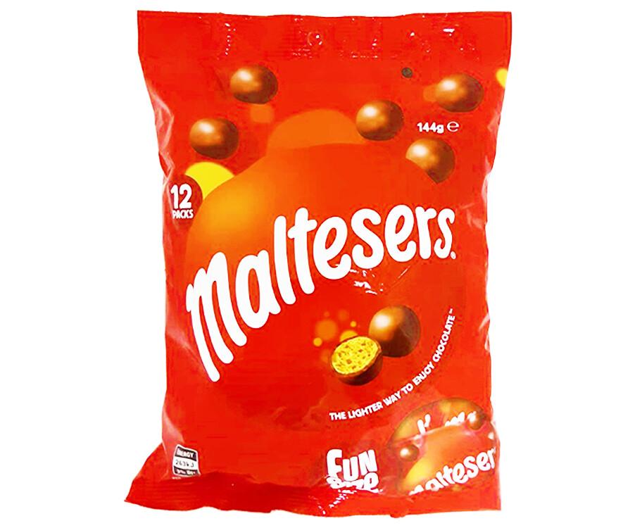 Maltesers Fun Size 12 Packs 144g