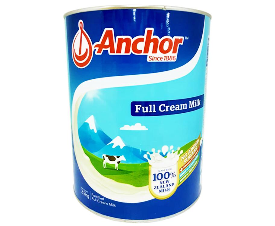 Anchor Full Cream Fortified Full Cream Milk 2.5kg