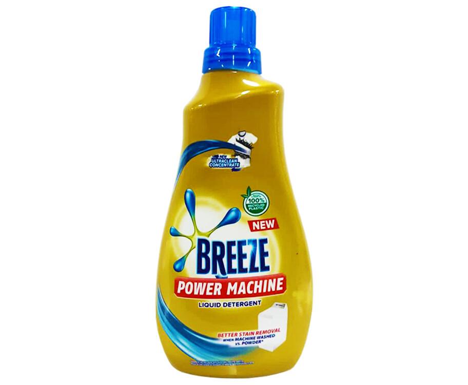 Breeze Power Machine Liquid Detergent UltraClean Concentrate 1000mL