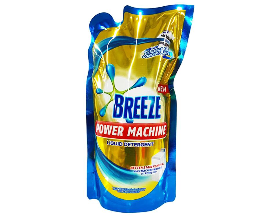 Breeze Power Machine Liquid Detergent UltraClean Concentrate 670mL
