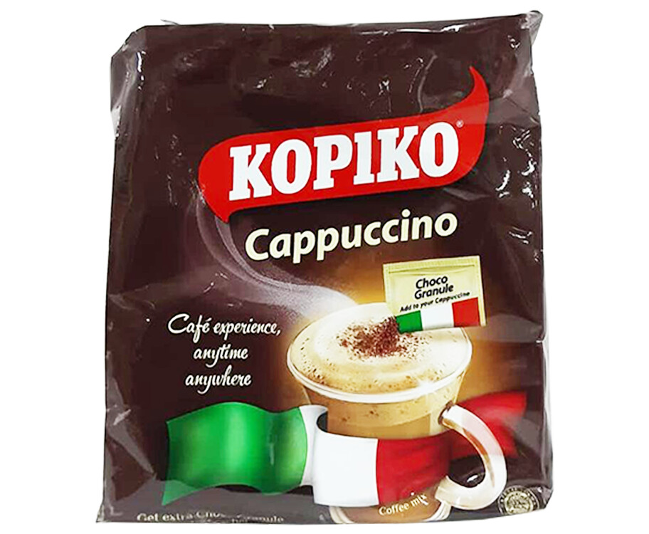 Kopiko Cappuccino Coffee Mix (10 Packs x 25g)