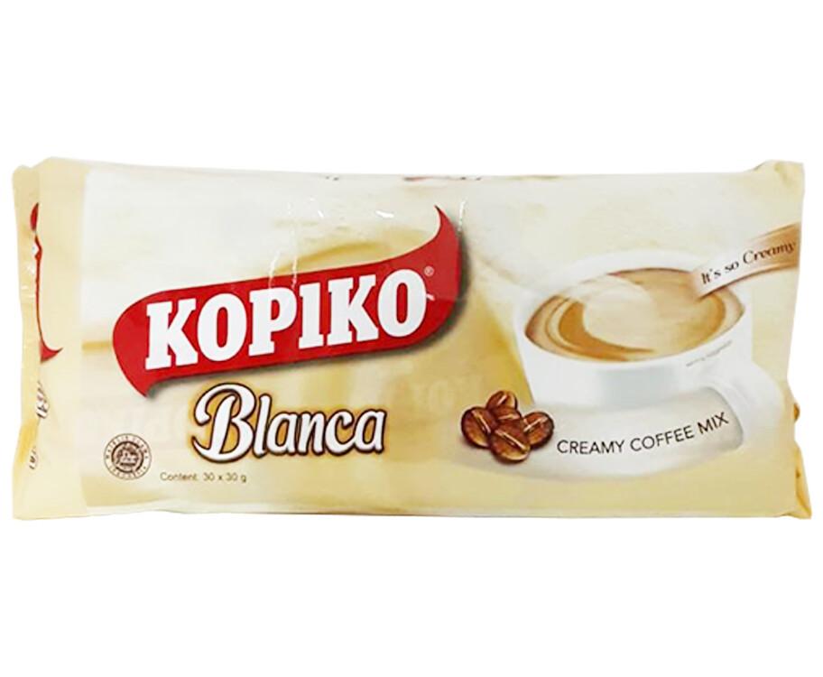 Kopiko Blanca Creamy Coffee Mix (30 Packs x 30g)