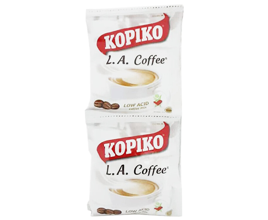Kopiko L.A. Coffee Low Acid Coffee Mix (6 Packs x 25g)