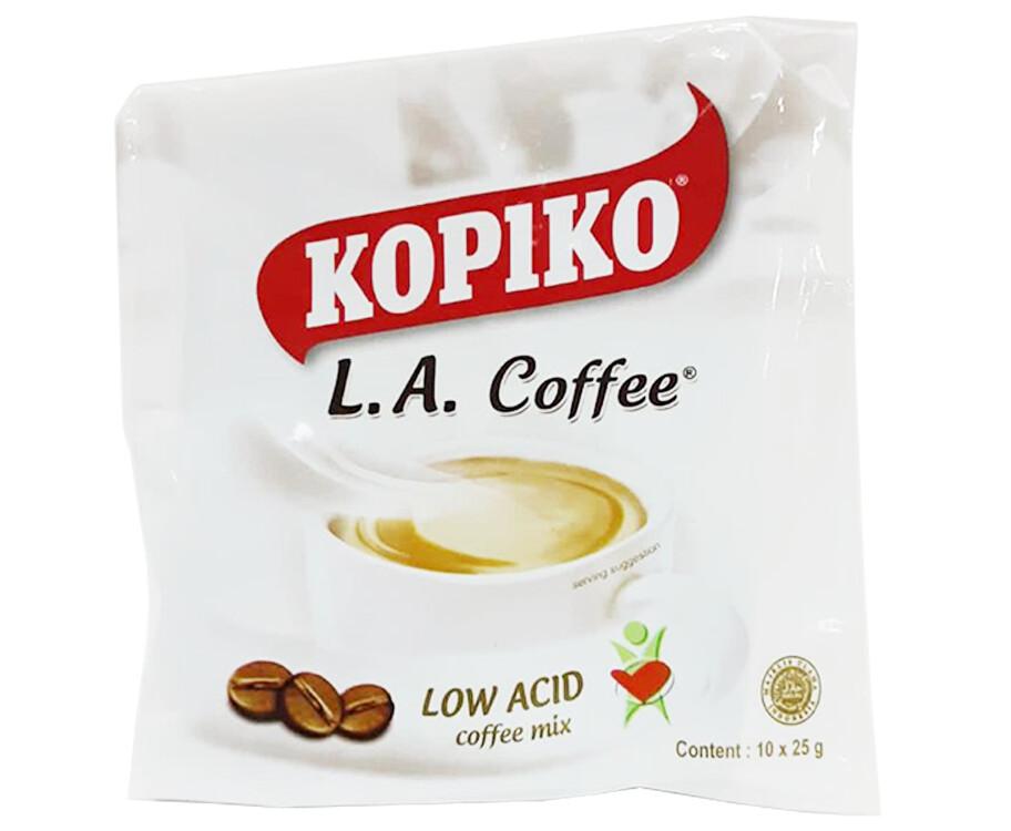 Kopiko L.A. Coffee Low Acid Coffee Mix (10 Packs x 25g)