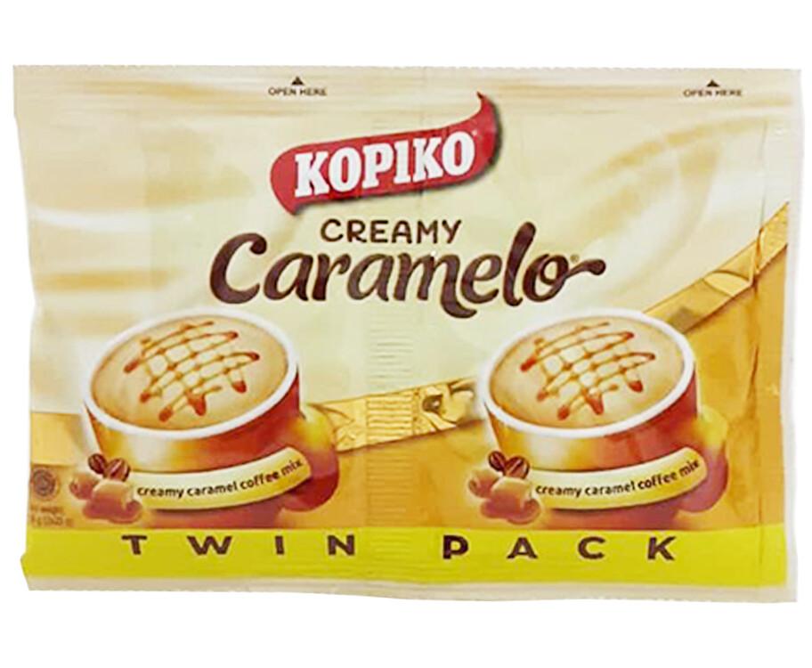 Kopiko Creamy Caramelo Creamy Caramel Coffee Mix Twin Pack 50g