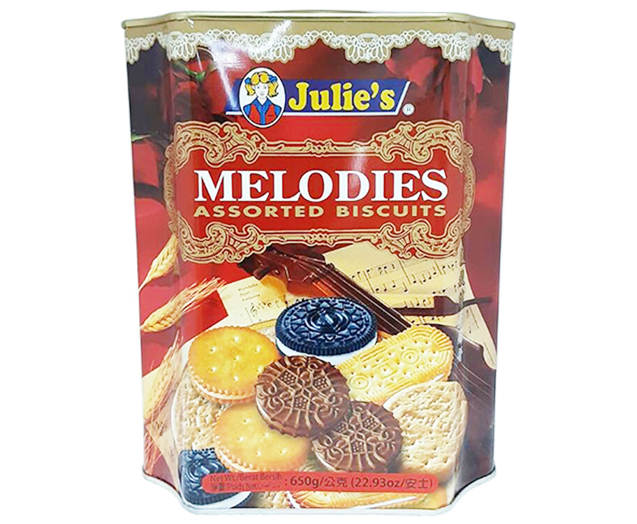 Julie's Melodies Assorted Biscuits 650g