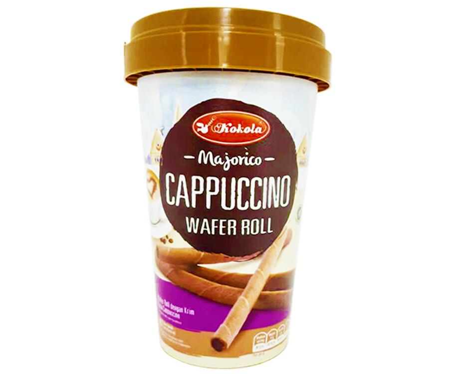 Kokola Majorico Cappuccino Wafer Roll 120g