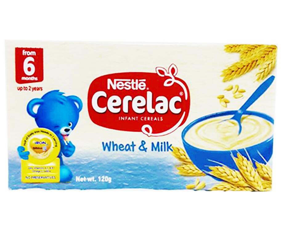 Nestlé Cerelac Infant Cereals Wheat & Milk 120g