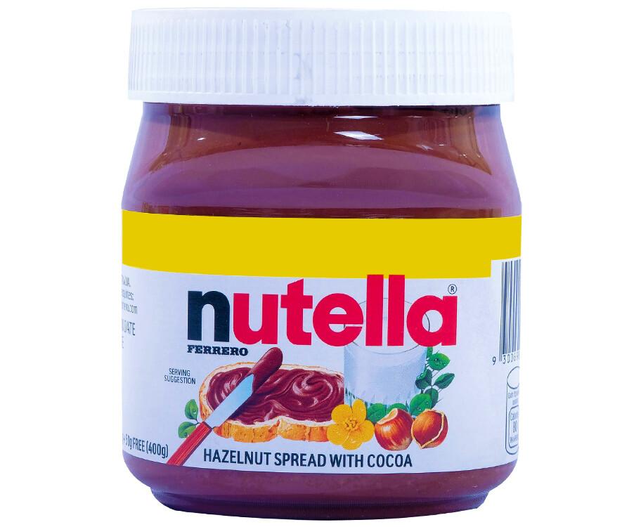 Nutella Ferrero Hazelnut Spread with Cocoa 400g