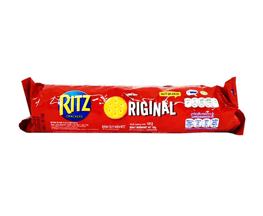 Kraft Ritz Crackers Original Salty Crackers 100g