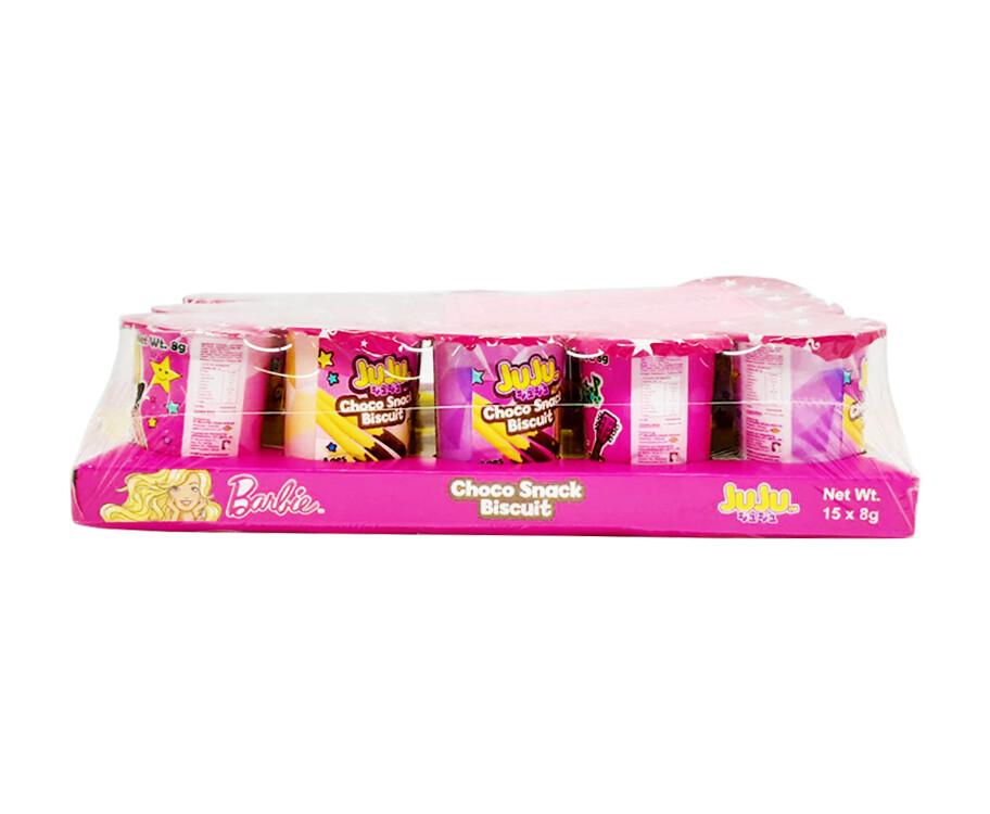 Barbie Juju Choco Snack Biscuit (15 Packs x 8g)