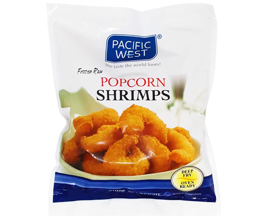 Pacific West Frozen Raw Popcorn Shrimps 300g