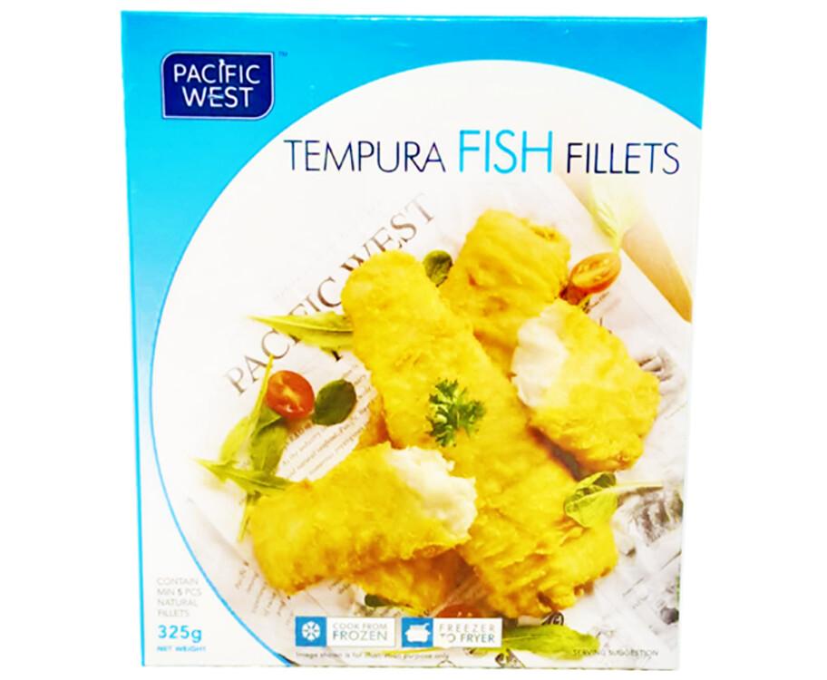 Pacific West Tempura Fish Fillets 325g