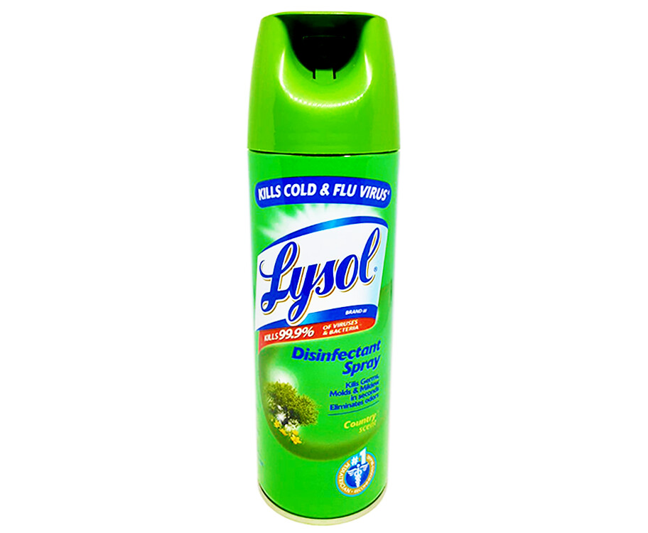 Lysol Disinfectant Spray Country Scent 340g