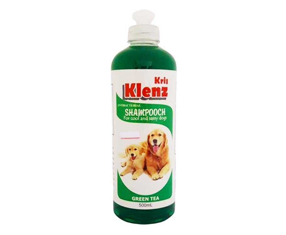Kris Klenz Antibacterial Shampooch Green Tea 500mL