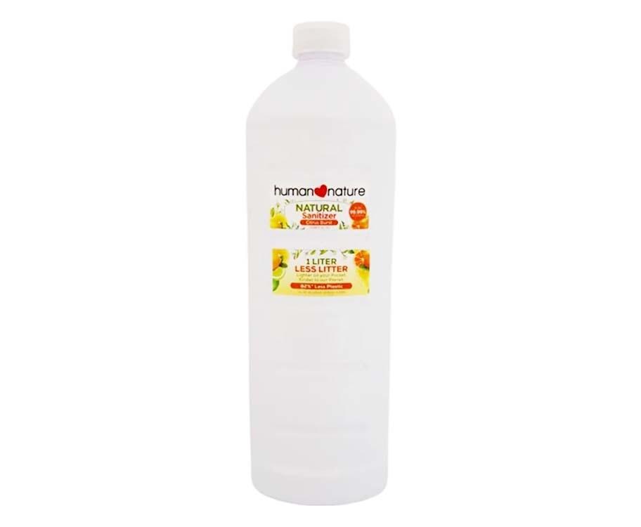 Human Nature Natural Sanitizer Citrus Burst 1L