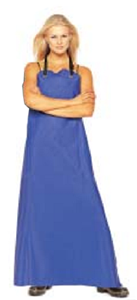 Apron PVC Blue
