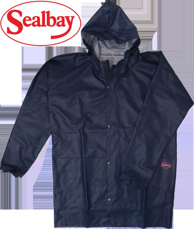 SEAL BAY Navy Parka & Hood