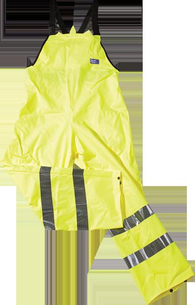 SEAL FLEX Hi Vis Yellow Bib & Brace