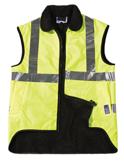 SEAL FLEX Hi Vis Yellow Fleece Vest