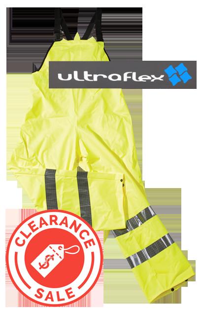 ULTRA FLEX Hi-Vis Yellow Bib & Brace