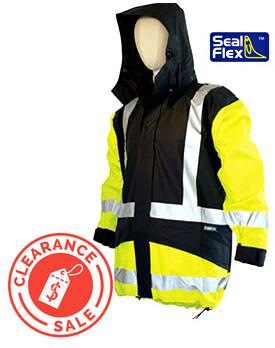 SEAL FLEX Hi Vis Yellow+Blue Parka (Non-Hi Vis-Compliant)