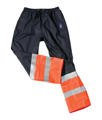 SEALS Seal Flex Hi Vis 2-Tone Orange+Blue Over-Trousers