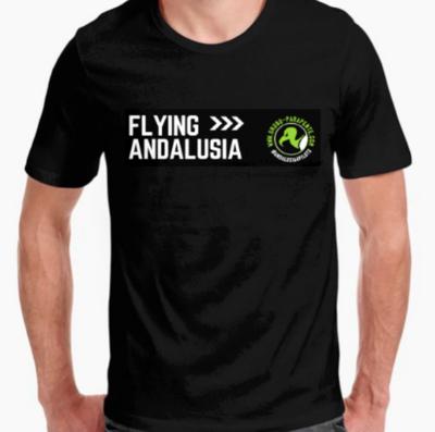 T-shirt haut de gamme FLYING ANDALUSIA