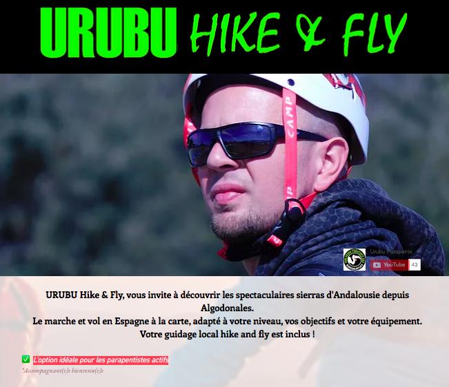 URUBUhike&fly │ Algodonales │ 1P/7J